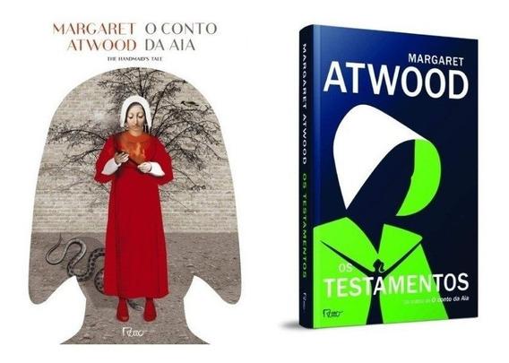 Livros: O Conto Da Aia + Os Testamentos De Margaret Atwood