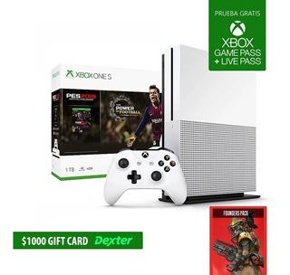 Consola Xbox One S - Gtia Oficial Xbox