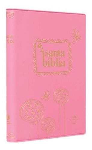Imagen 1 de 3 de Biblia Económica Pc Color Rosa Reina Valera 1960