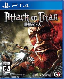 Attack On Titan Nuevo Ps4 (en D3 Gamers)