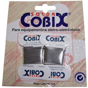 Solda Cobix Em Cartela C/2 Unidades