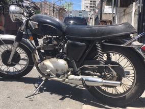 Motocicleta Triumph Inglesa - Antiga- Nao Bonneville ,norton