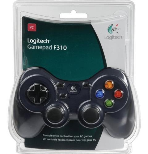 Imagen 1 de 6 de Logitech Gamepad F310, Pc, Alámbrico, Negro/gris, Usb