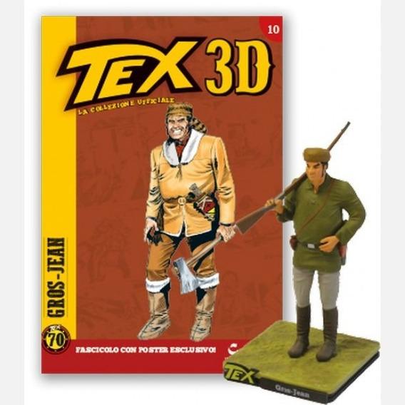 Colecao Tex 3d - Miniatura 10 Gros-jean - Bonellihq I18