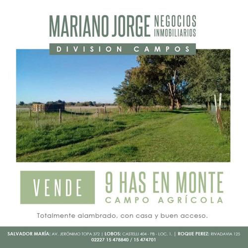 Chacra De 9 Has Con Casa De 120 M2 - San Miguel Del Monte