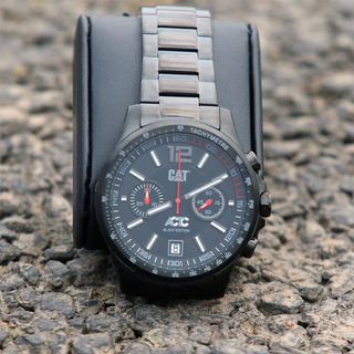 Reloj Caterpillar Actc Black Edition Especial Gtia 2 Años