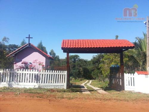 Imagem 1 de 27 de Chácara Com 2 Dormitórios À Venda, 16940 M² Por R$ 790.000,00 - Zona Rural - Altinópolis/sp - Ch0153
