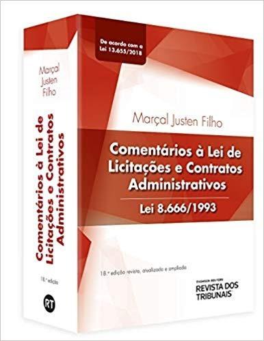 Comentários À Lei De Licitações E Contratos Administrativos