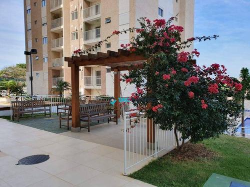 Imagem 1 de 30 de Apartamento Com 2 Dormitórios À Venda, 67 M² Por R$ 415.000,00 - Santa Terezinha - Paulínia/sp - Ap2192