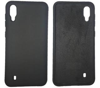 Funda Silicona Flexible Samsung M10 Negra