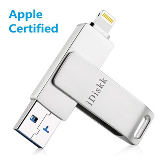 Idiskk 32gb Usb 3.0 Flash iPhone iPad Compatible Certificado
