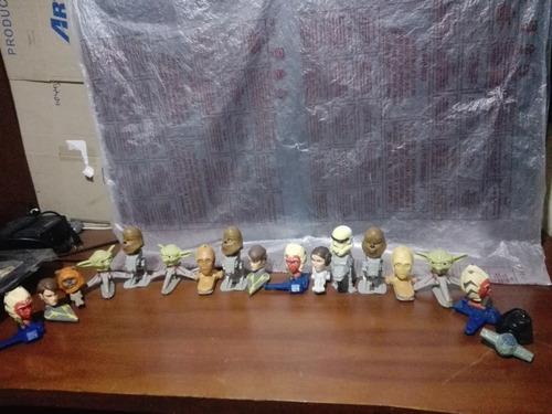 Lote De 17 Juguete Star Wars Cabezones Mcdonalds Original