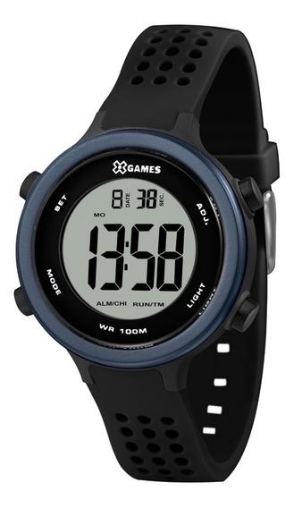 Relógio X-games Masculino Digital Xkppd068 Preto Azul