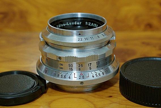 Schneider-kreuznach Edixa-laudar 50mm 2.8 M42 15 Lâminas Pre