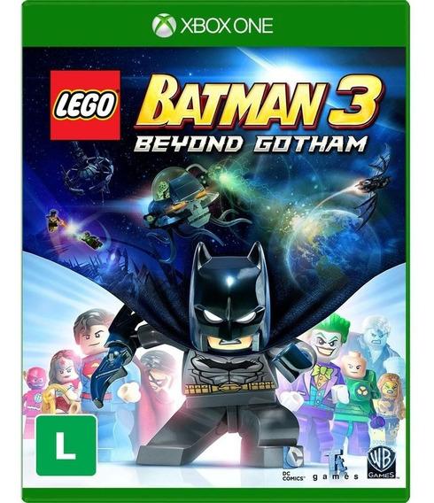 Jogo Lego Batman 3 Xbox One Mídia Física Original Dublado Br