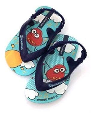 Chinelo Masculina Infantil Azul - 011780