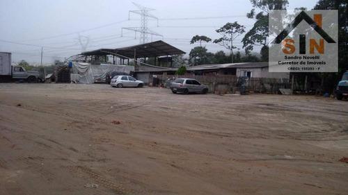 Imagem 1 de 5 de Área Para Alugar, 7000 M² Por R$ 3.490,00/mês - Jardim Arujá - Arujá/sp - Ar0011