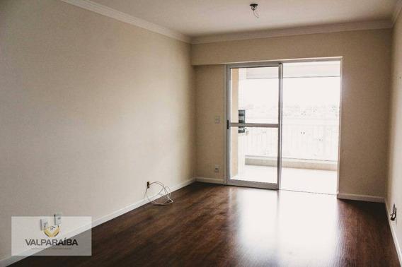Apartamento Com 3 Dormitórios À Venda, 88 M² Por R$ 457.000 - Parque Industrial - São José Dos Campos/sp - Ap0439