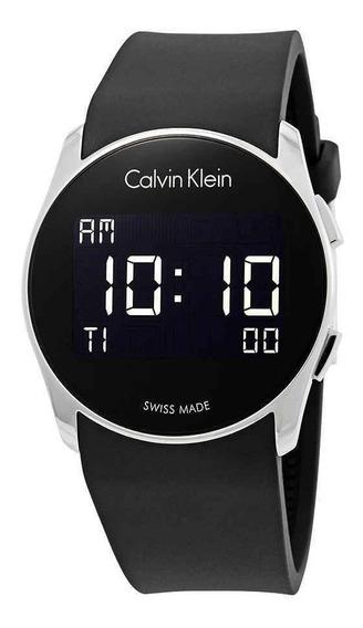 Reloj Calvin Klein K5b23td1 Digital Nuevo Original Suizo