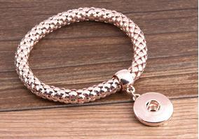Pulseira Bracelete Para Snap Ouro Mod1