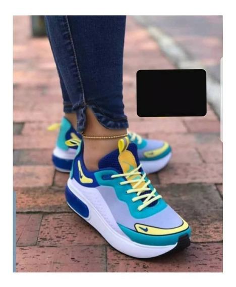 Zapatos Nike Air Max Deportivos Dama Gym Colombianos
