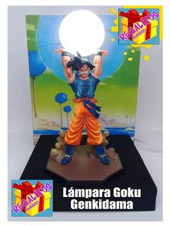 Dragon Ball Z, Lampara, Velador Goku Genkidama Artesanal