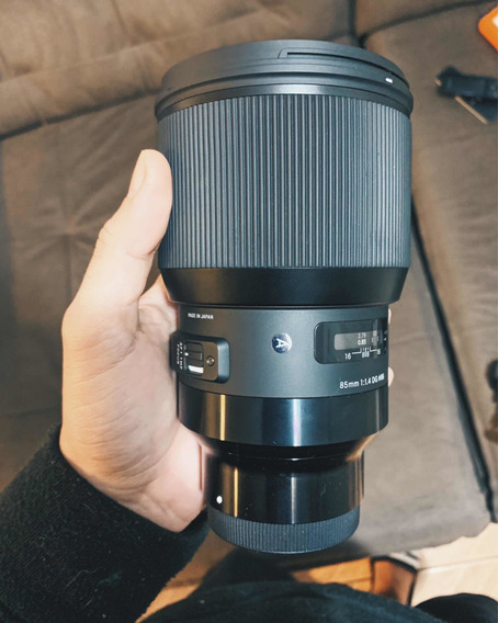 Lente Sigma Art 85mm 1.4 Para Sony