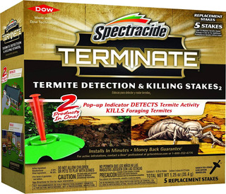Spectracide Terminate Termite Detection Killing Stakes Re...