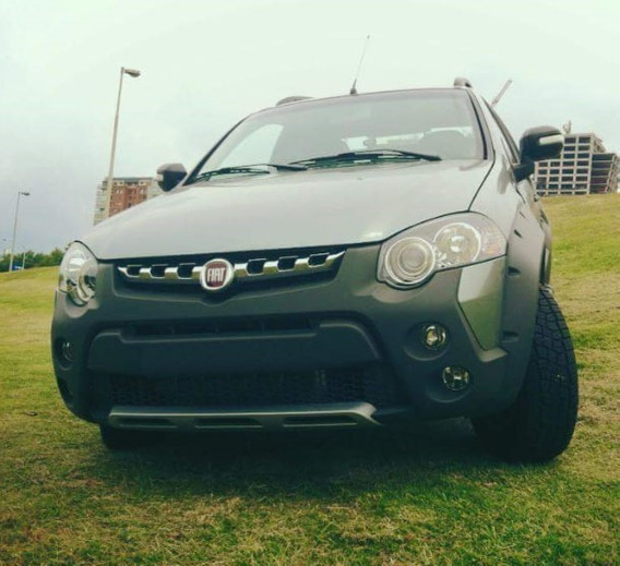 Fiat Strada Adventure Locker Cabina Ext. Full, Pocos Km