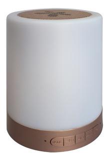 Stylos Stsslx1g Bocina Bluetooth Sensor Tactil Led Dorada
