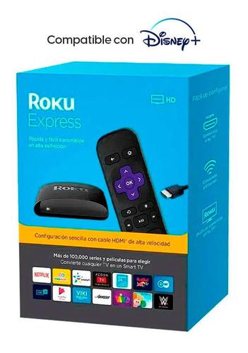 Convertidor A Smart Tv Roku Express, Reproductor Streaming