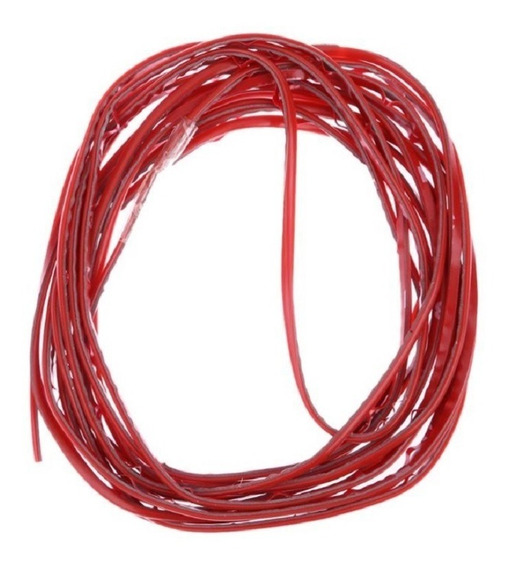 Carro Tuning Fita Friso Interior 2,5 M Vermelho + Primer