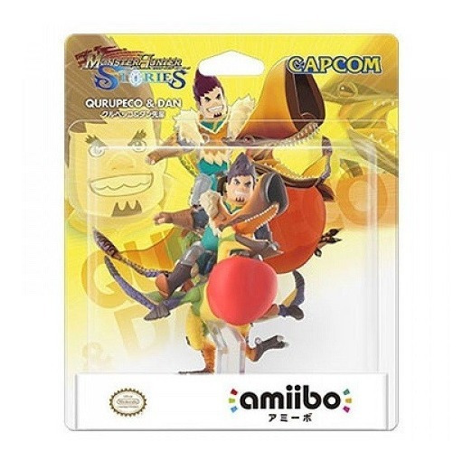 Amiibo Qurupeco & Dan Monster Hunter - 3ds Switch Wiiu
