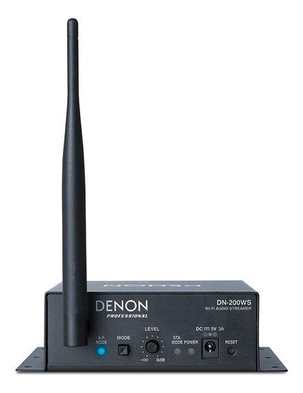 Denon Pro Dn200ws Receptor Streaming De Audio Vía Wi-fi 6pag