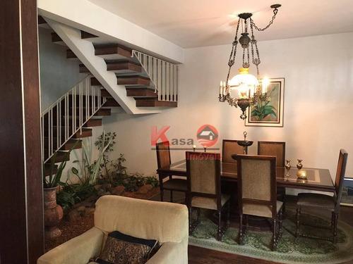 Imagem 1 de 29 de Casa Com 3 Dormitórios À Venda, 254 M² Por R$ 1.300.000,00 - Ponta Da Praia - Santos/sp - Ca1229