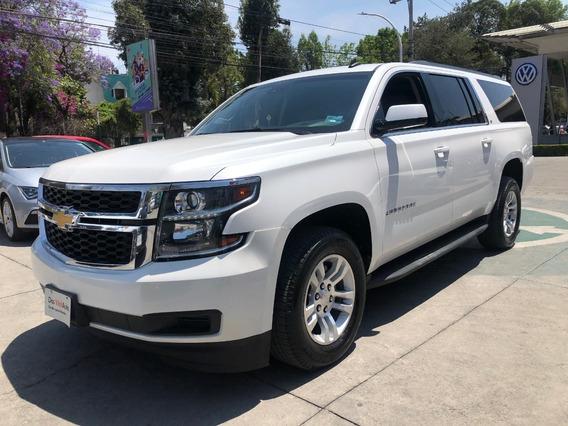 Chevrolet Suburban 2017 5.4 Lt Piel Cubo At