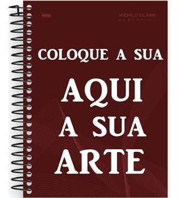Caderno Personalizado 10 Materia Com Foto Nas Capas Bird Box