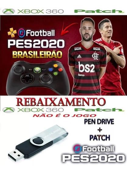 Patch Pes 2018 Xbox 360 + Pen Drive 16 Gigas + Rebaixamento