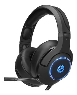 Auriculares Gamer Hp Dhe-8003 Luces Microfono Usb Pc