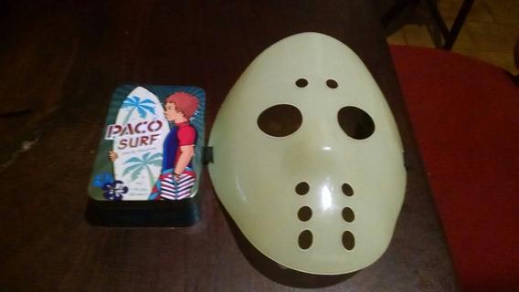 Mascara De Jason Con Una Caja De Paco Surf Para Guardar.