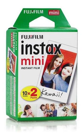 Filme Instax Mini Instantâneo Fujifilm - 20 Fotos