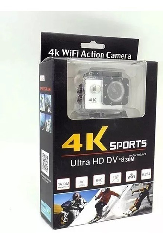 Go Pro/ Cámara Filmadora Sumergible Ultra Hd 4k C Wifi
