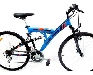 Bicicleta Mountain Bike Doble Suspension Firebird Rod 26 18v