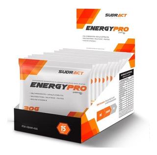Energy Pro Sudract - 15 Sachês 30g Pré E Durante O Treino