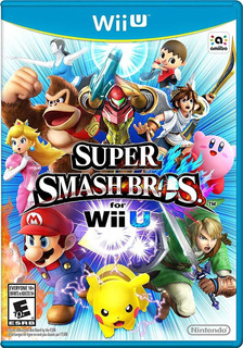 Super Smash Bros Wii U Digital 5.5.3.+ Pack De 130 Juegos