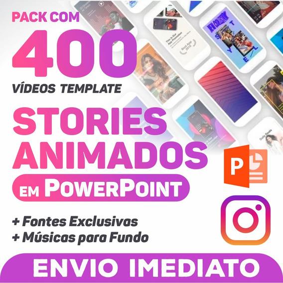 400 Templates Animados Instagram Stories Em Powerpoint