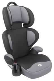 Cadeira Cadeirinha Infantil Bebê Carro Triton Preto E Cinza