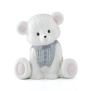 Lenox 867383 Baby Bear Boy Bank