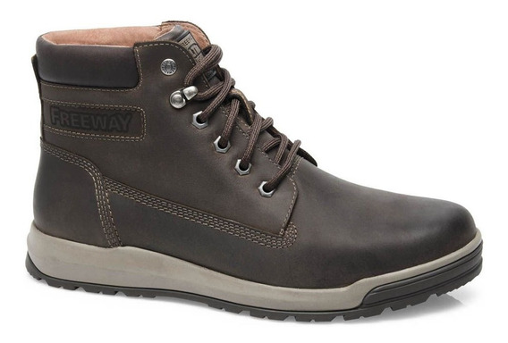 Coturno Masculino Freeway Rover 2486 - Chocolate