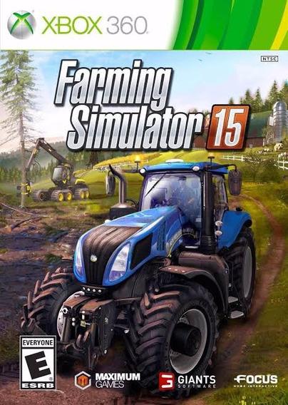 Farming Simulator 15 Xbox 360 Midia Digital